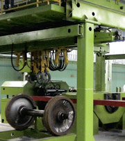 Automated Complex for Dismounting Railcar Wheel Pairs from Cars