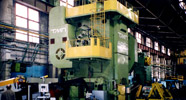 Setting of an automatic complex on the basis of the 4000tf capacity hot forging press for track production